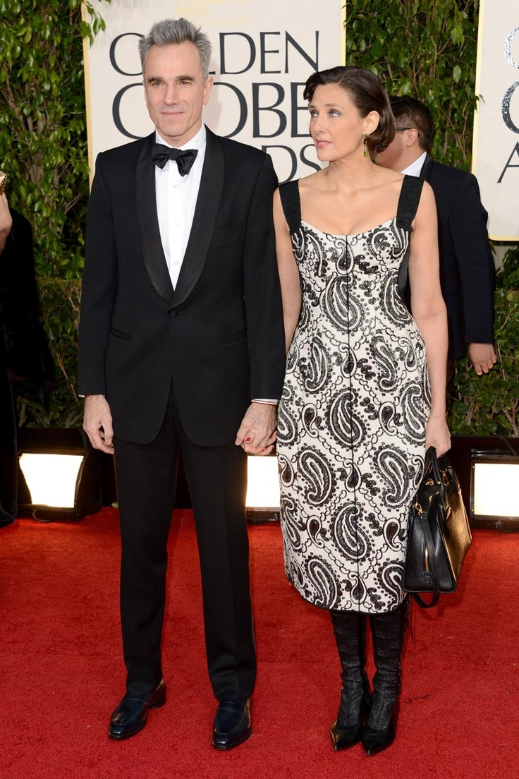 #GoldenGlobes 2013 Rebecca Miller & Daniel Day Lewis