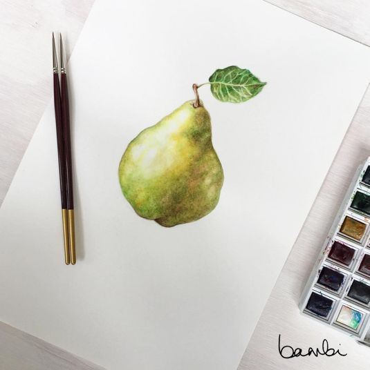 Grew a pear. #bybambi