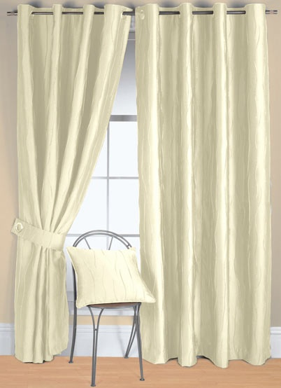 Jazz Ready Made Eyelet Curtain Dining Room