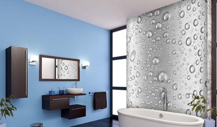 3 boyutlu  banyo duvar kağıdı örnekleri
