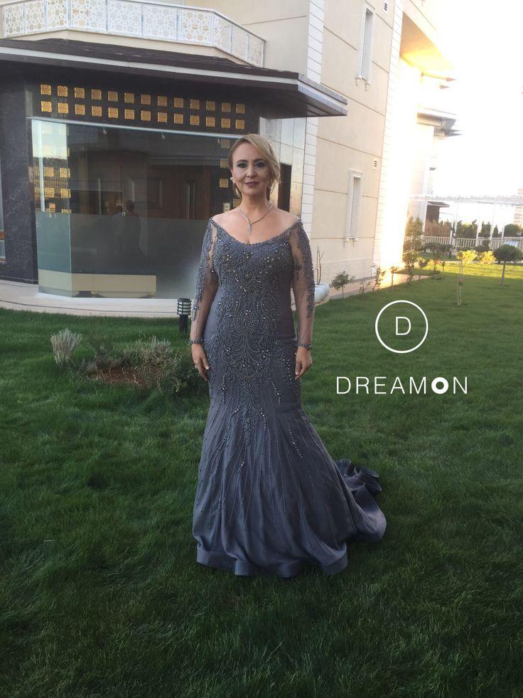 DreamON Tasarım atölyesi tarafından kendisi için tasarlanan couture abiyesi Neşe Bayram'a çok yakıştı. www.dreamon.com.tr #dreamon #dreamoncouture #couture #abiye #nişanlık #kıyafet #dreamontasarımatölyesi #great #wedding #engagement #sketch #style #tarz #tasarım #fashion #gaziantep #picoftheday #moda #mutluluk #happy