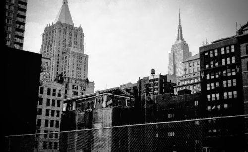 Documenting The Empire State's Dominance Over 1990s NYC - Sepia Tones - Curbed NY