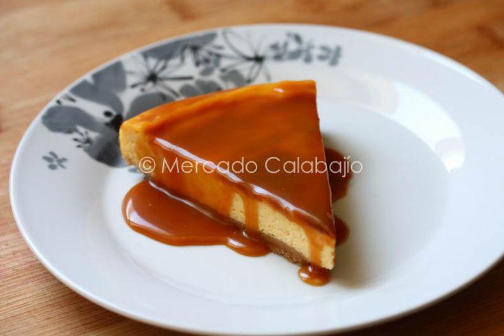 TARTA CHEESECAKE CON CARAMELO SALADO