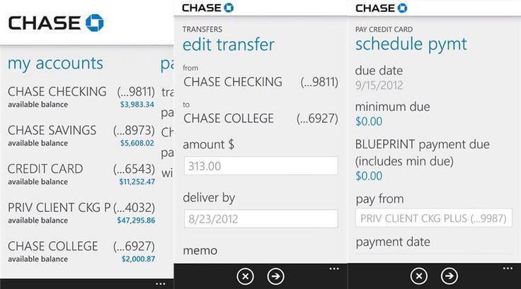 Official Chase banking app for Windows Phone 8 gets updated, lets you edit recurring payments and transfers