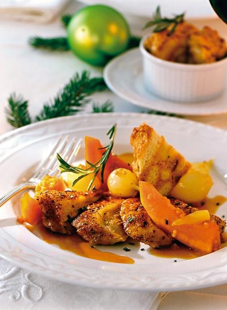 Hauptspeise: Knusprig gebratene Rosmarin-Ente - Rezepte: Weihnachtsmenü mit Ente - 2 - [ESSEN & TRINKEN]
