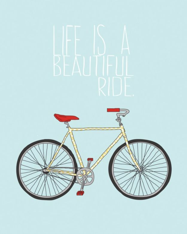 Best Free Printables For Your Walls - Free Bicycle Printable - Free Prints for Wall Art and Picture to Print for Home and Bedroom Decor - Crafts to Make and Sell With Ideas for the Home, Organization - Quotes for Bedroom, Living Room and Kitchens, Vintage Bathroom Pictures - Downloadable Printable for Kids - DIY and Crafts by DIY JOY http://diyjoy.com/free-printables-walls