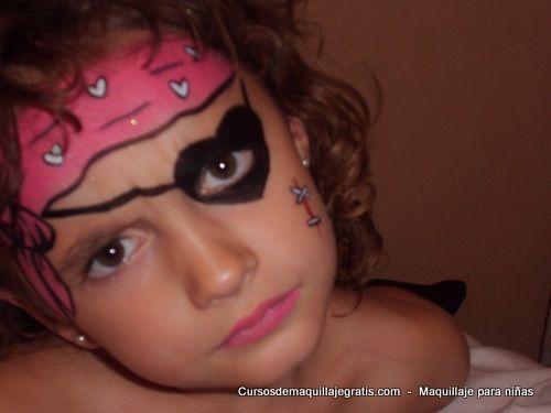 73 mejores im genes de piratas en pinterest piratas - Maquillaje pirata nina ...