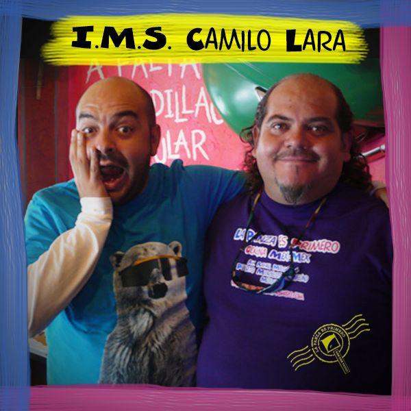Nuestro buen amigo Camilo Lara de visita en Barriga Llena.  No se pierdan el concierto + MEX Instituto Mexicano del Sonido IMS, este jueves 18 de septiembre en Ocho y medio 21hrs.