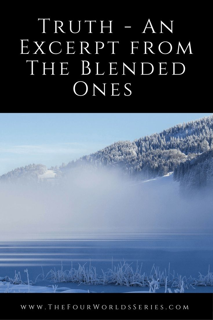 Truth – An Excerpt from The Blended Ones