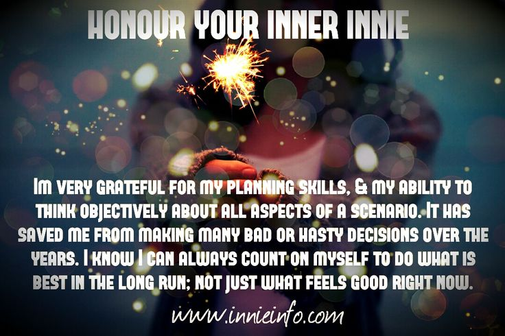 """Innie Info """"Honour Your Inner Innie""""© meme series: Part 4. Ah, yes. The good old planning and critical thinking skills! While at times, I know this can be frustrating for ourselves (and others), when..."""