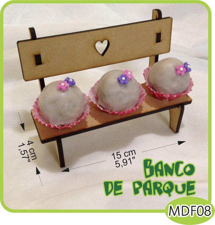 Banco de parque para Candy Bar./Park bench for your Candy Bar. - Pedidos/InquirIes to: crearcjs@gmail.com