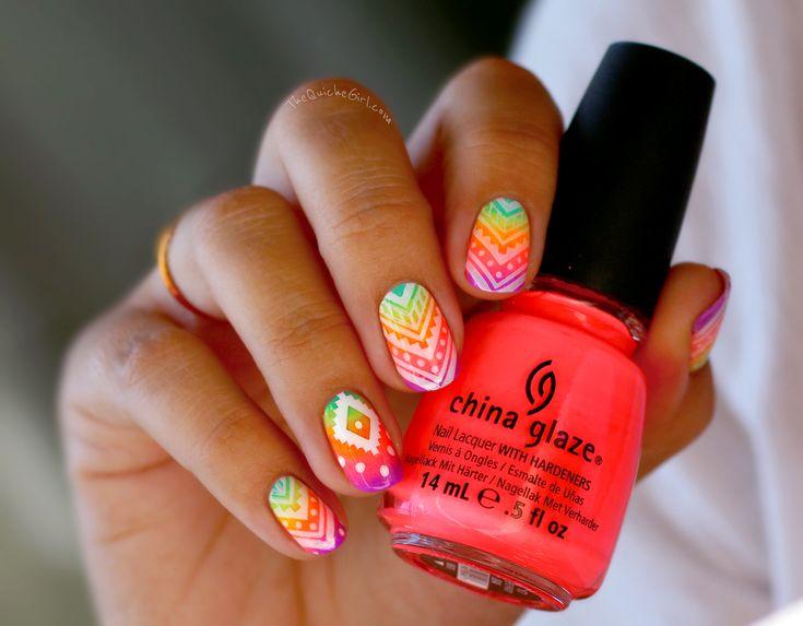 O.P.I +China Glaze // néonitude part 2 : sur le blog de QuicheGirl.