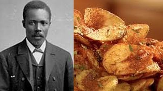 Black History fact: Potato chips were invented by an African American http://www.examiner.com/article/black-history-fact-potato-chips-were-invented-by-african-american: