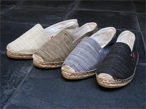 Just loving these new coarse weave traditional espadrille flats from Drilleys.: Traditional Espadrilles, Coarse Weaving Traditional