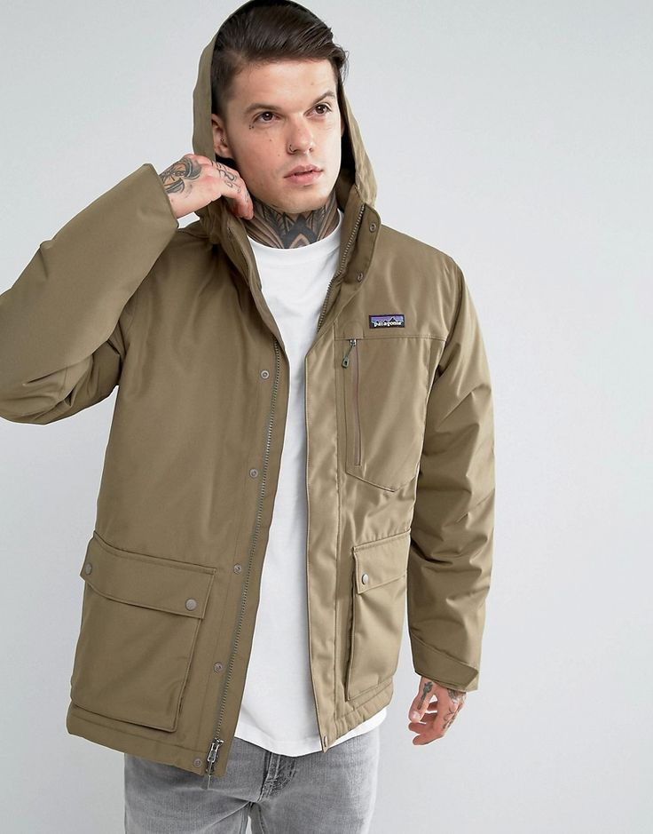 Get this Patagonia's parka now! Click for more details. Worldwide shipping. Patagonia Topley Parka Jacket Detachable Hood Down Insulated in Green - Green: Parka by Patagonia, Durable water repellent coating, Recycled Down padding for warmth, Detachable hood, Zip fastening with press-stud closure, Functional pockets, Regular fit - true to size, Machine wash, 100% Polyester, Our model wears a size Medium and is 185.5cm/6'1 tall. Ready made for the great outdoors, Patagonia create high-quality…