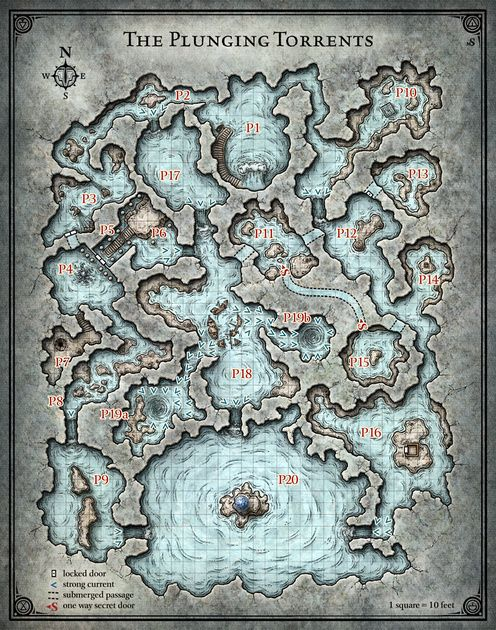 Princes of the Apocalypse; Plunging Torrents (Digital DM & Player Versions)