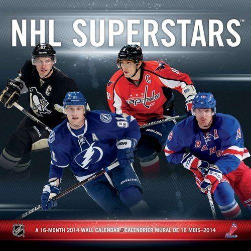 NHL Superstars 2014 Bilingual Calendar