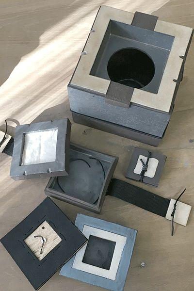 Alle compartimenten van de Koesterkluis-urn