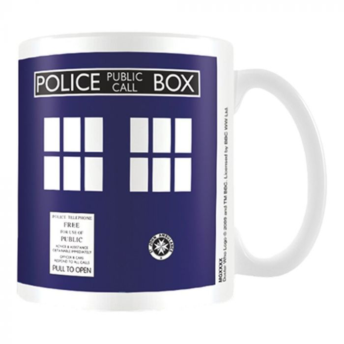 Imaginaire - DOCTOR WHO - TASSE TARDIS - BLEU Figurines de collection, monnaie, costume d'halloween, disney, manga