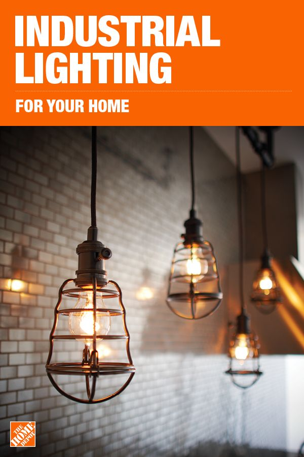 The Home Depot Has Everything You Need For Your Home Improvement Projects Click To Learn More And Shop Industrial Lighting Basement Inspiration Brewery Design