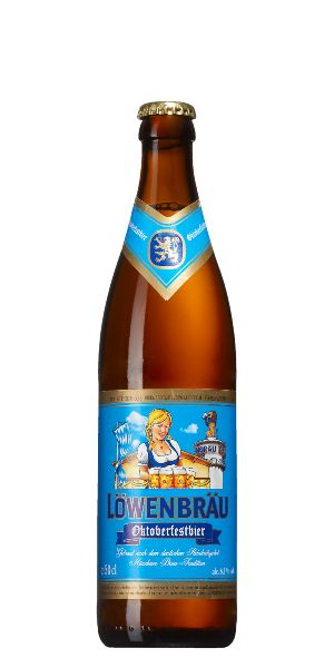 Lowenbrau Oktoberfest. I remember Lowenbrau as a decent beer in the 70's, until Miller Brewing began making it in the US. Something changed and I never drank it again. Thankfully the craft beer revolution led to many better options and we no longer depended on skunky German imports to satisfy our palates!