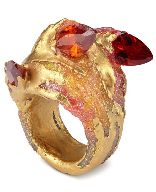 Maud Traon : ring : Precious Metal series