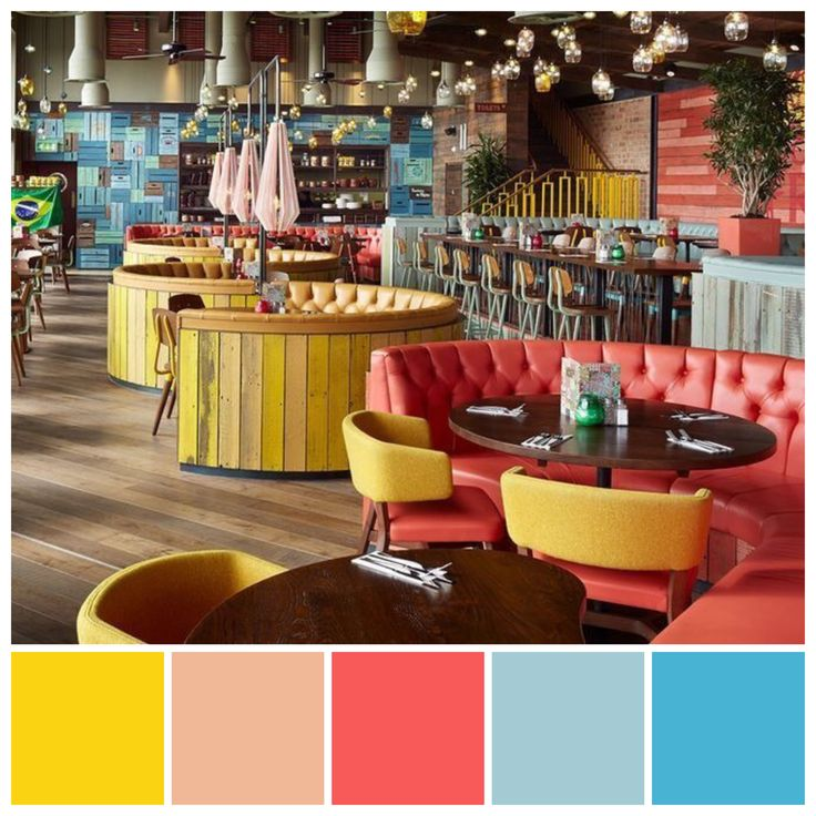 triadic colour scheme contributes to the casual ambience on interior color schemes id=91144