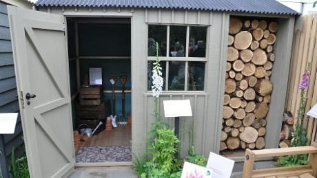Crane Garden Buildings... These are amazing but pricey...Almost, but not quite as enticing as a Shepherd's Hut
