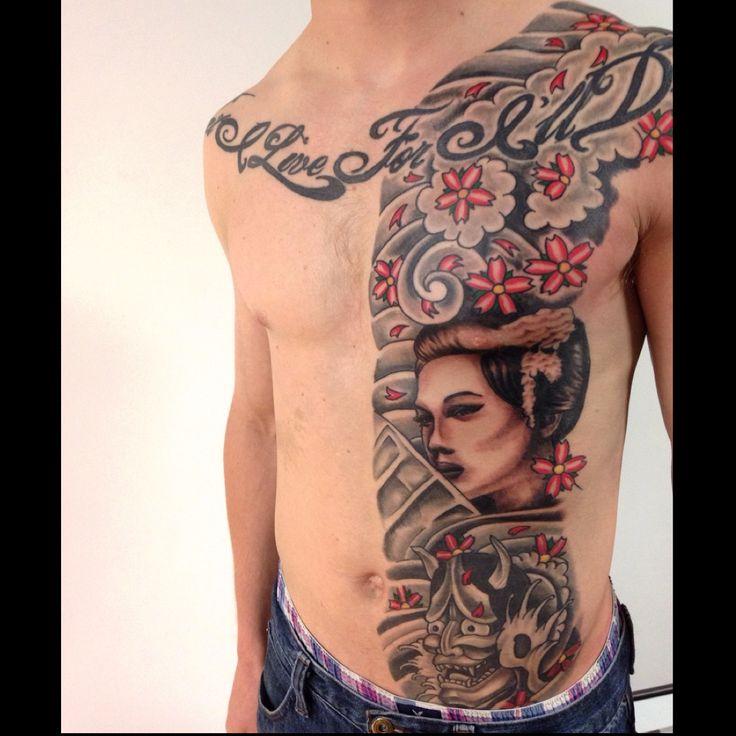 The beginning of my body suit. By Francis Khuu Virginia Class tattoos, Manassas, VA
