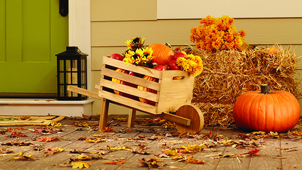 I am super excited to announce that I'm teaming up with The Home Depot and some super talented bloggers to participate in The Home Depot's #DIHWorkshop Virtual Party! The virtual party will be one week from today (Monday, September 12); and this time around, we are building this adorable Rustic Wheelbarrow!