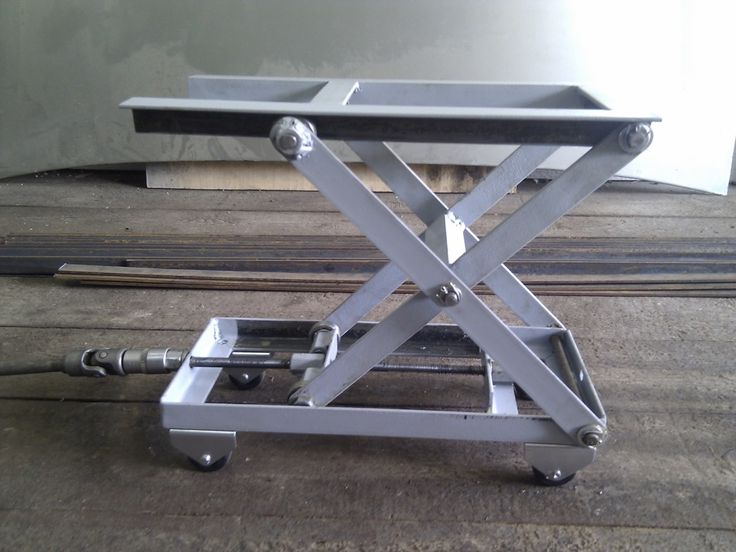 Diy Motorcycle Lift Table Plans