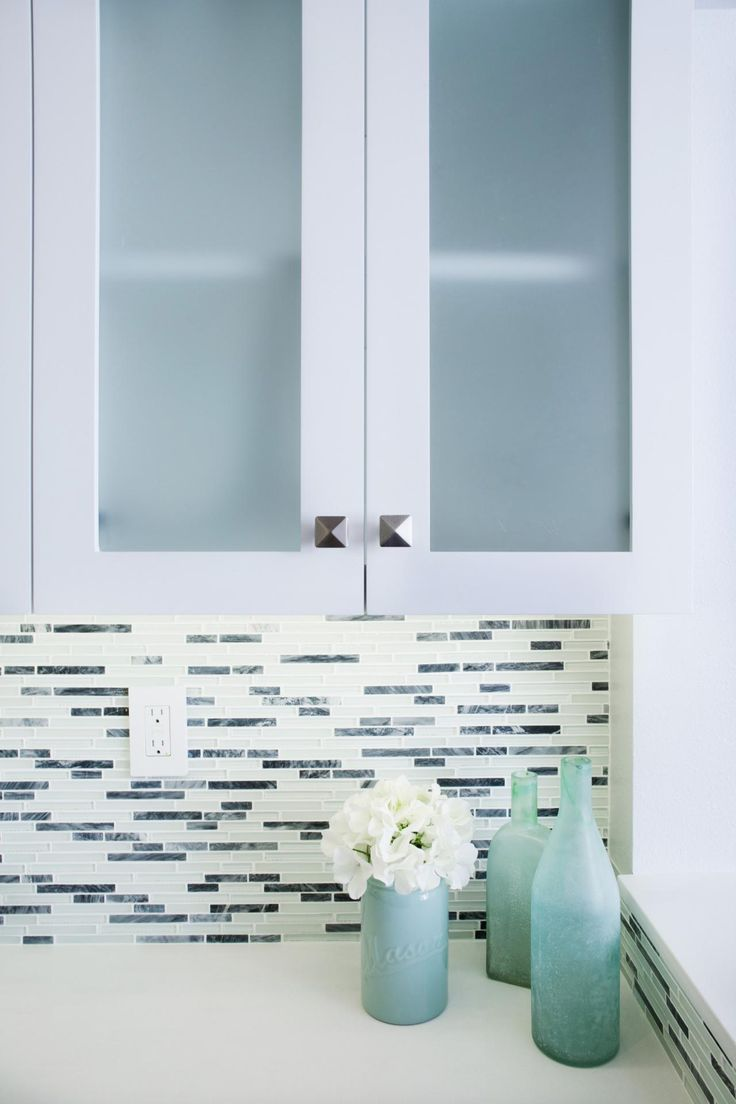 28 best GH ideas images on Pinterest | Glass tiles, Kitchen designs ...