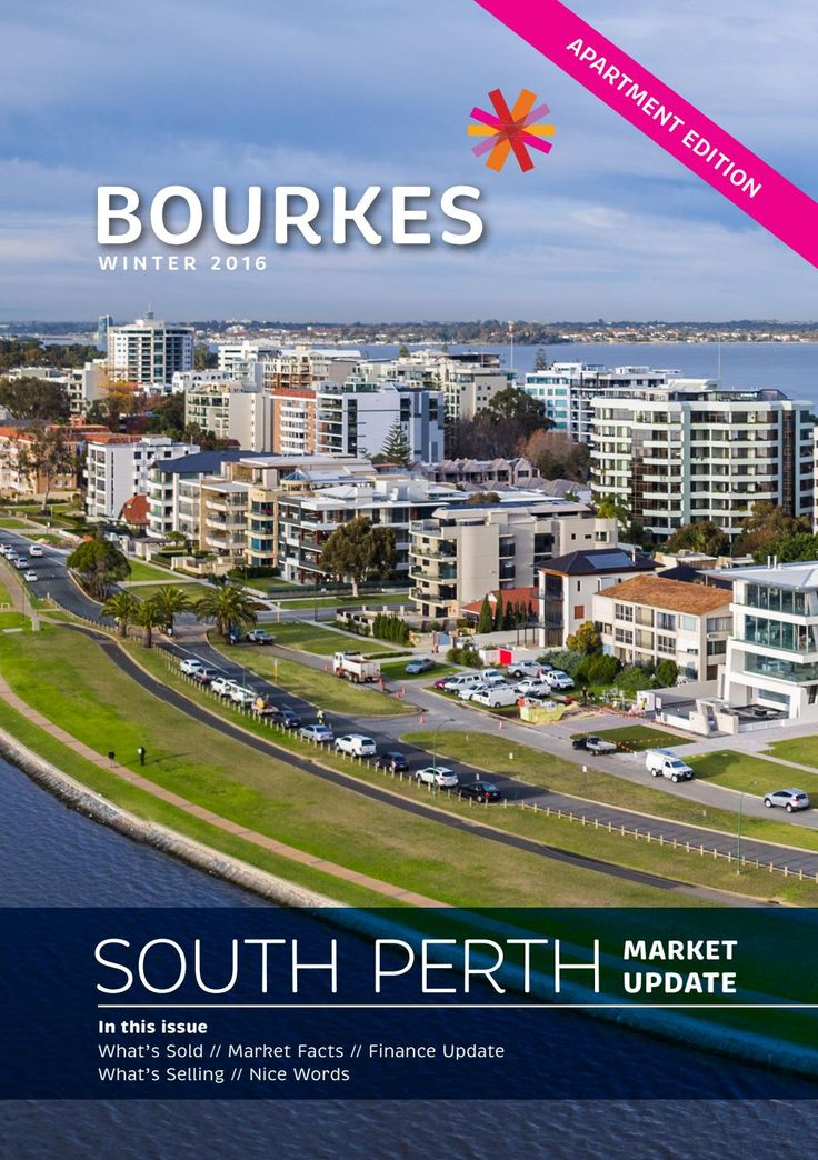 South Perth Apartment Market Update - Winter 2016 (Julie West)