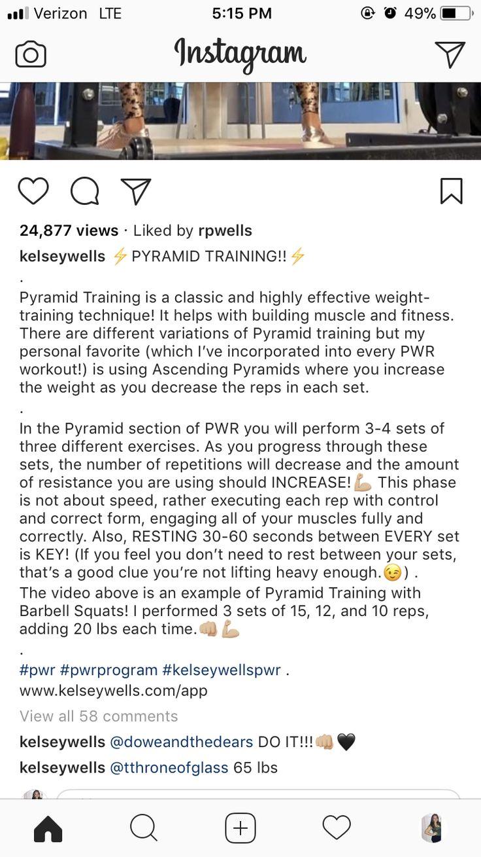 Explanation of pyramid training