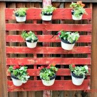 Le Wood Pallet Planter, Dress up your Garden with Junk