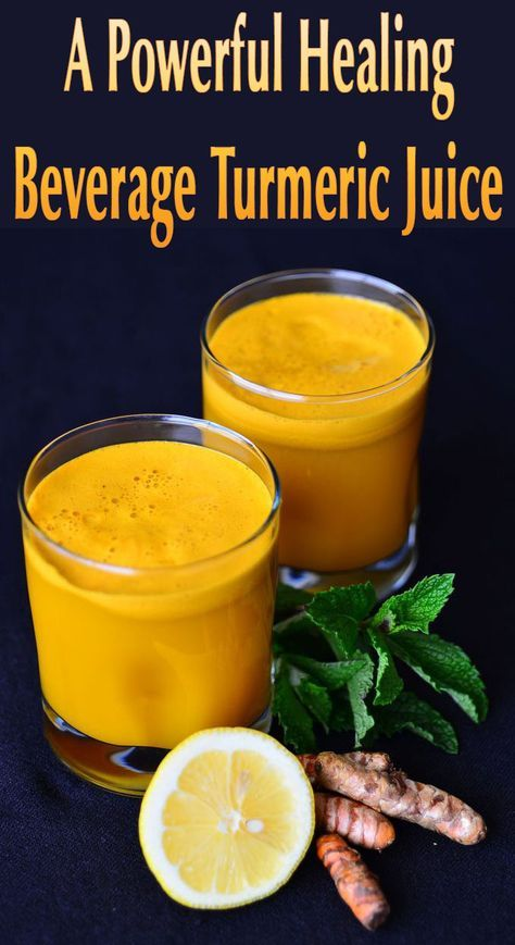 A Powerful Healing Beverage Turmeric Juice