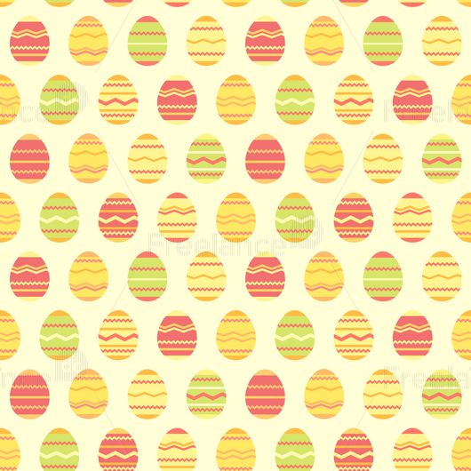 The pattern for Easter. Buy ready-made vector image.