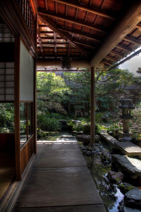 Kanazawa  Japan / Nomura-ke (samurai-house) en  野村家(武家屋敷) 縁