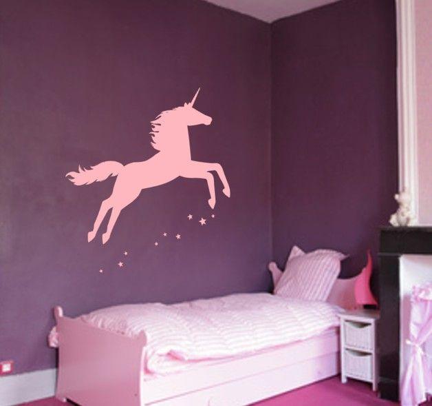 wandtattoo kinderzimmer einhorn baby xxl sticker. Black Bedroom Furniture Sets. Home Design Ideas