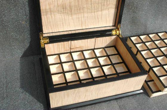 Custom Wooden Jewelry Box Vape Organizer Jewelry