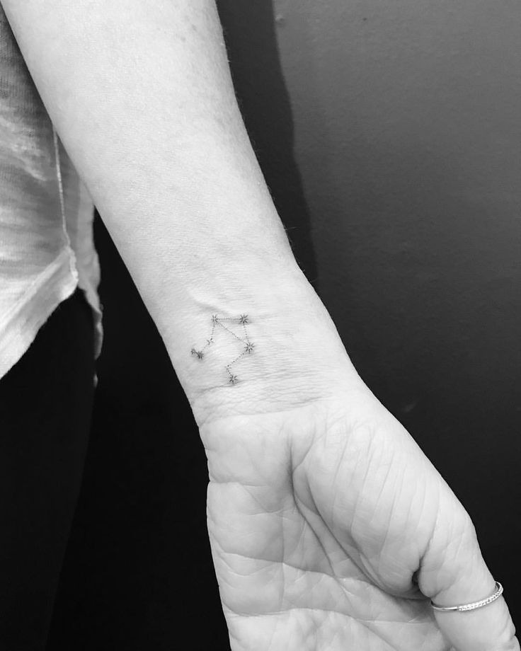 "138 Likes, 3 Comments - Wicky Nicky (@wickynicky) on Instagram: ""#libra #constellation #tattoo #smalltattoo #nyc #westvillage #west4tattoo #longisland #타투 #문신 #일상"""