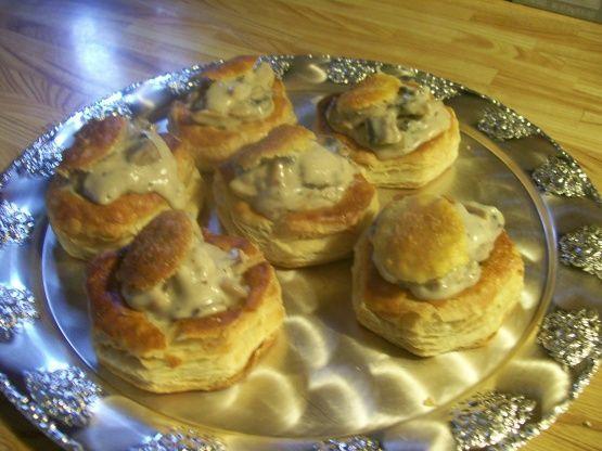 Mushroom Vol Au Vent Recipe - Food.com