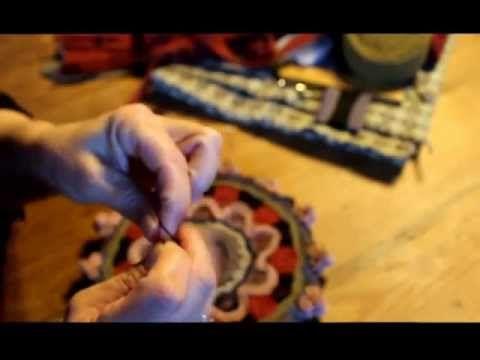 Stitching a Standing Wool Mat (part 2)