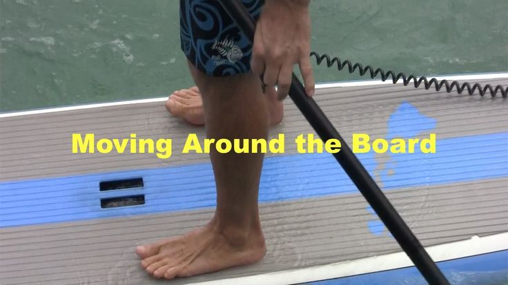 SUP tips: Keep feet from going numb & moving around on a Stand Up Paddle board