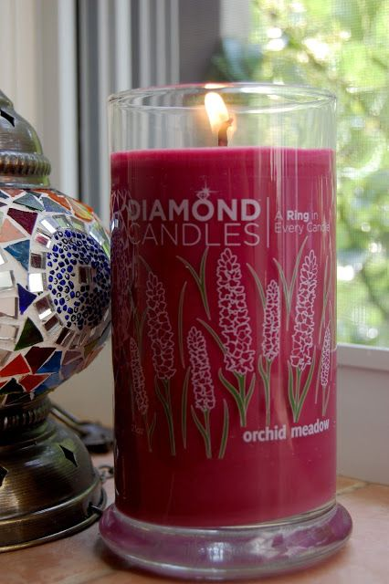 Who'd LOVE some Orchid Meadow soy Diamond Candles?