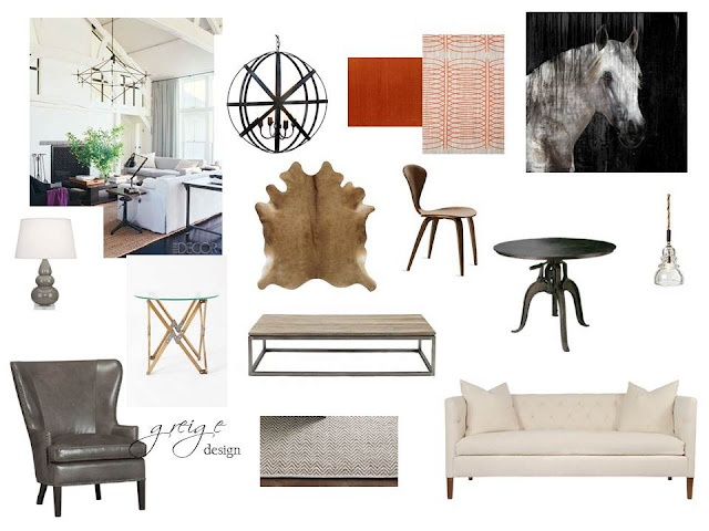 Greige Living Room Ideas