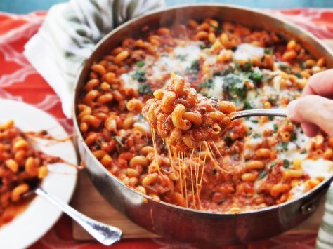 American chop suey: the cheesy, beefy, misnamed stovetop casserole that deserves a comback #recipe #pasta