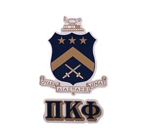 Pi Kappa Phi Waterslide Crest & Letter Combinations