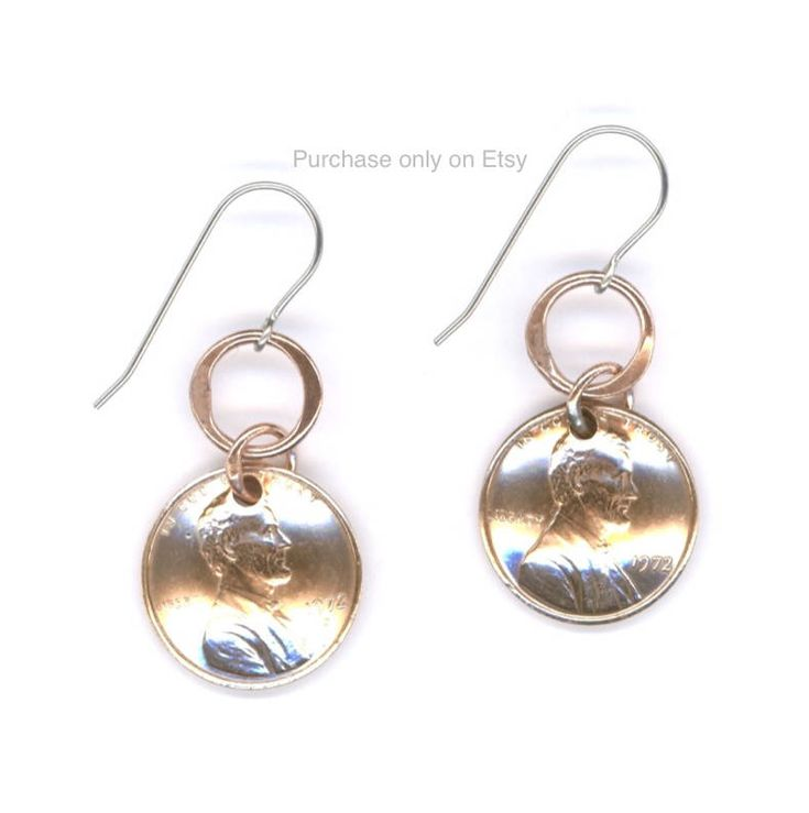 45th birthday gift ideas for her jewelry penny earrings