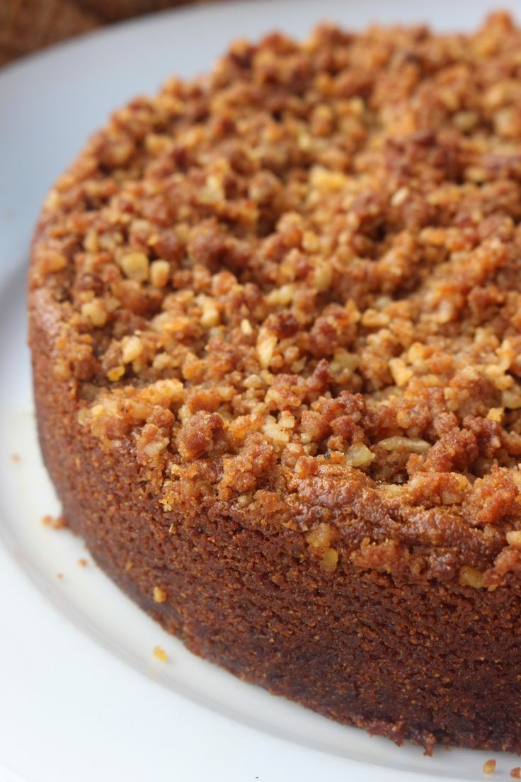 Anti-Grain Sweet Potato Flour Cinnamon Coffee Cake (AIP/Paleo)